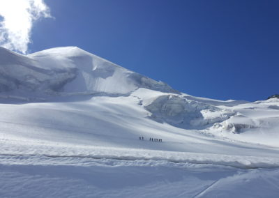 Saas-Fee glacier